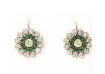 Emerald Gardens Love Drop Earrings