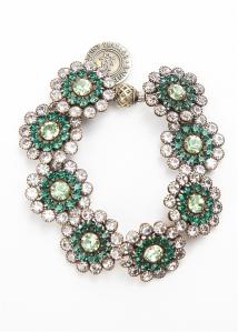 Emerald Gardens Bracelet