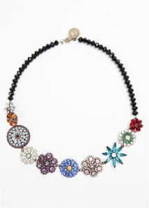 Aspen Spring Floral Bouquet Necklace