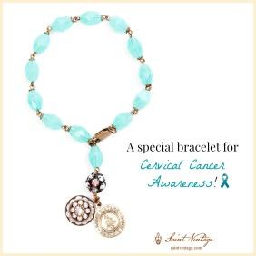 special teal bracelet