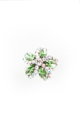 sv couture peridot garden ring