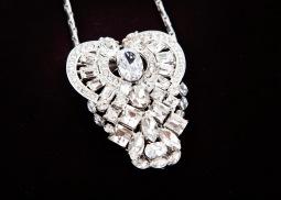 sv antique heart clip necklace3