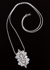 sv couture antique bloom clip necklace2