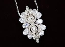 sv couture antique bloom clip necklace3