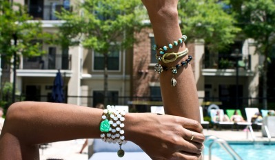 Saint Vintage Cancer Awareness Bracelet