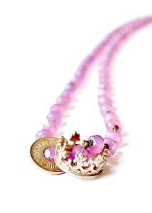 molly crown & token necklace2