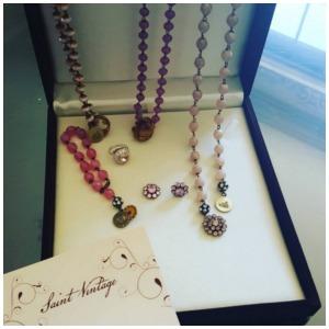 pink bcam jewelry post