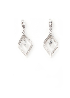 SV couture triangle earrings