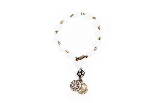 lung cancer awareness month bracelet