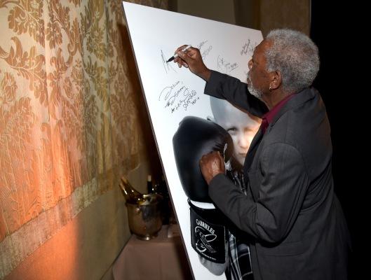 Mandatory Credit: Photo by Tyler Boye/Variety/REX/Shutterstock (5597649ba) Morgan Freeman Variety's Unite4:Humanity Gala - Saint Vintage, Los Angeles, America - 25 Feb 2016